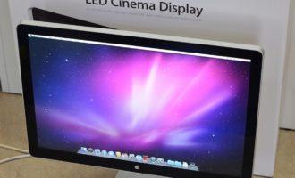 Apple LED Cinema Display MB382J/A 24インチ買取ました!Mac高額買取専門店オンラインMac買取ストア