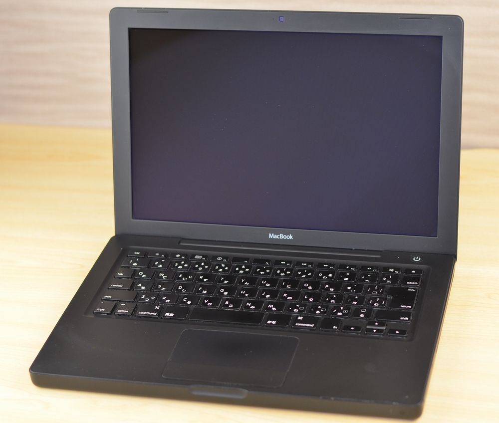 MacBook買取ました!13-inch Late 2007-オンラインMac買取ストア