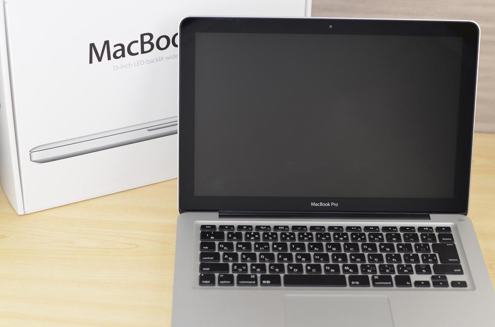 MacBook Pro買取ました!13-inch,Mid 2012 Core i7 8GB MD102J/A-中古・壊れたMac買取専門店オンラインMac買取ストア