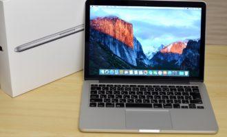 MacBook Pro買取ました!Retina,13-inch,Early2015 MF839J/A-専門店だからできる!故障・壊れたMacも 「他店圧倒高額買取保証」
