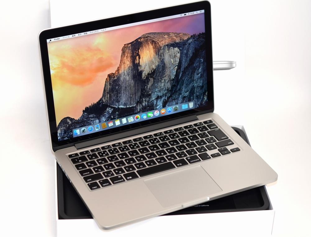 MacBook Pro買取ました!Retina,13-inch,Mid 2014 MGX82J/A-MacBook Proの買取はオンラインMac買取ストア