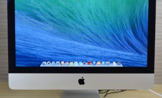 iMac買取ました!21.5-inch,Late 2013 Core i5 8GB 1TB