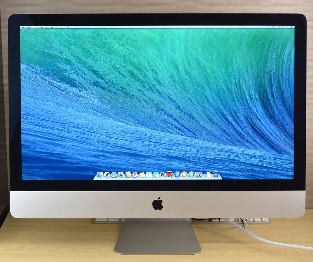 iMac買取ました!27-inch,Late 2013 Core i5 メモリ32GB 1TB,Mac最強の買取店!オンラインMac買取ストア