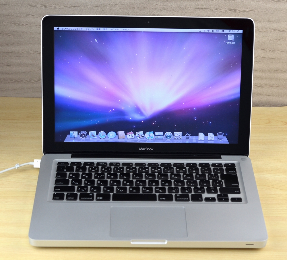 MacBook 買取ました!MacBook 13-inch,Aluminum Late 2008 ジャンク品