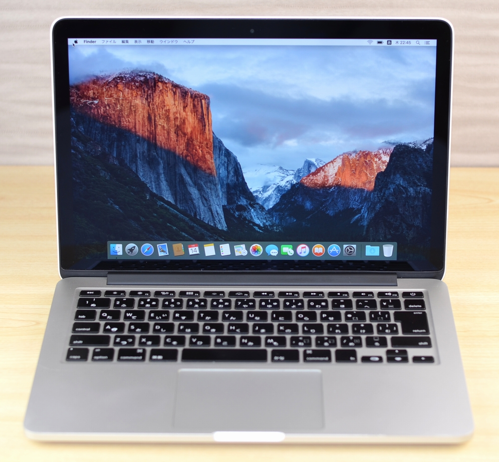 MacBook Pro買取ました!Retina 13-inch Late 2012 ジャンク品