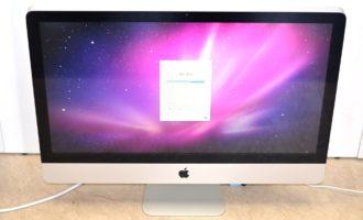 iMac買取ました!iMac 27-inch,Late 2009 ジャンク品