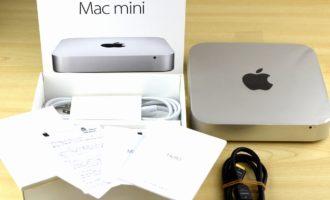 Mac mini買取ました!Late 2014 MGEN2J/A Core i5