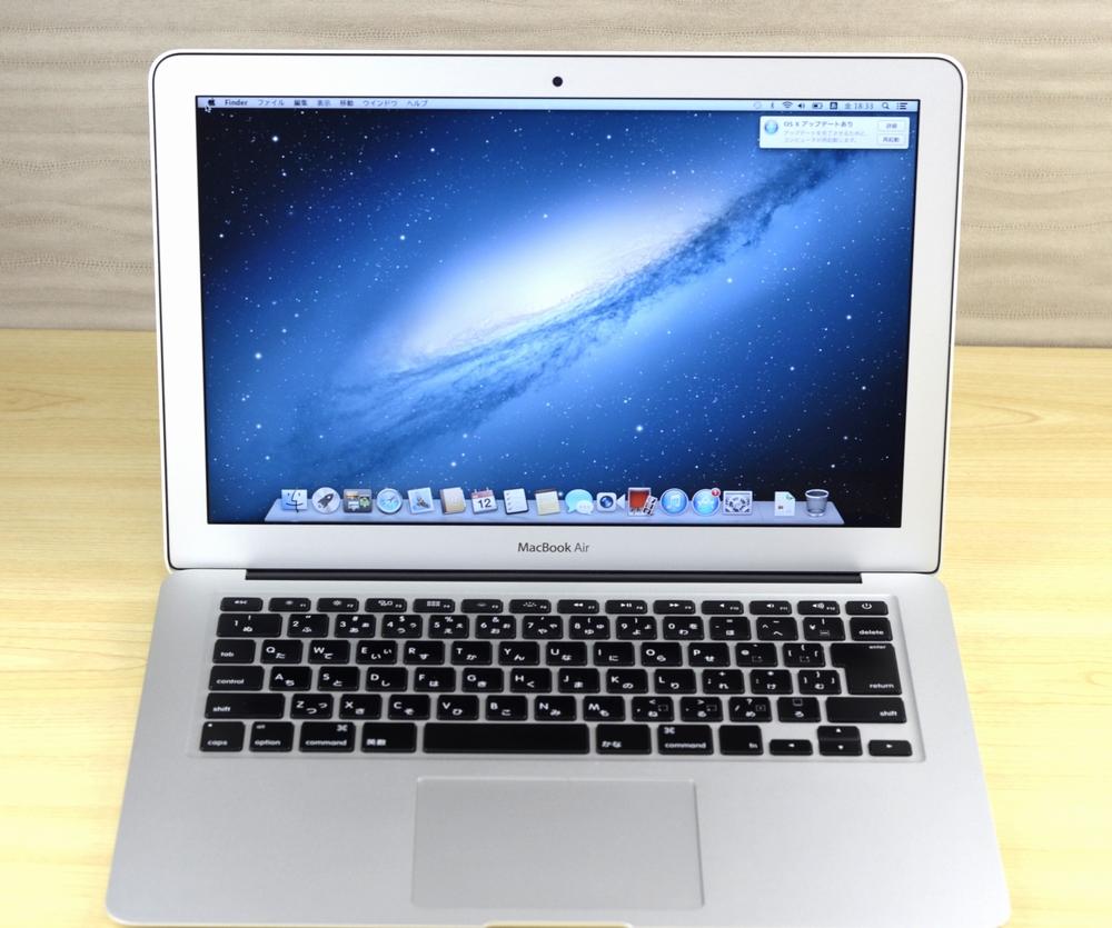 MacBook Air買取ました!13-inch,Mid 2013 MD761J/A Core i5