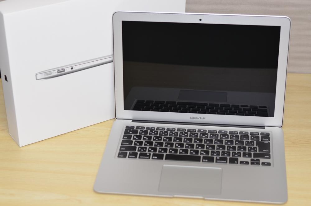 MacBook Air買取ました!13-inch,Mid 2013 MD761J/A-Macの買取はオンラインMac買取ストアにお任せください!