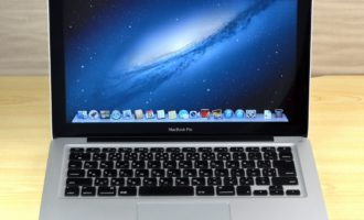 MacBook Pro買取ました!13-inch Early 2011 MC700J/A Core i5
