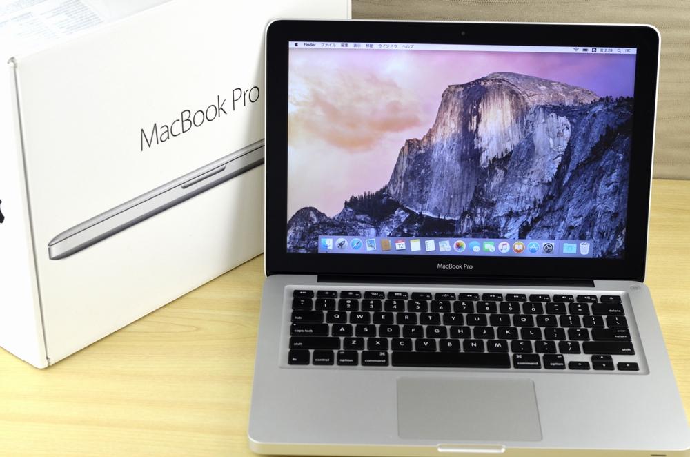 MacBook Pro買取ました!13-inch,Mid 2012 MD101J/A,MacBook Proの高額買取はオンラインMac買取ストアにお任せください!
