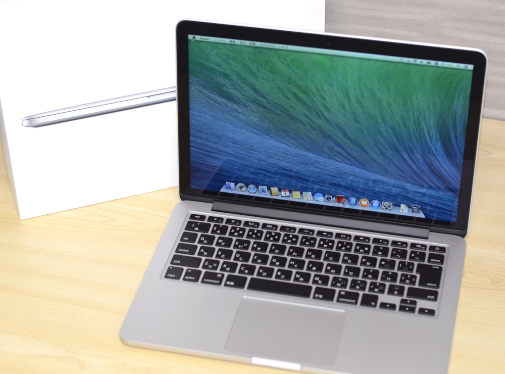MacBook Pro買取ました!Retina 13-inch Mid 2014 MGX72J/A