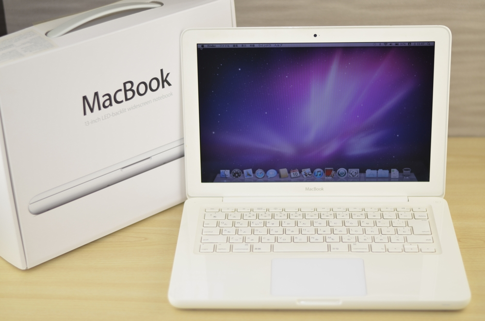 MacBook買取ました!13-inch,Mid 2010 MC516J/A