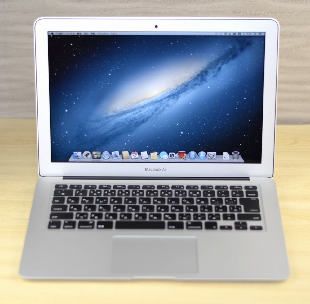 MacBook Air買取ました!13-inch,Mid 2012 Core i5,中古MacBook Airの買取はオンラインMac買取ストアにお任せください!