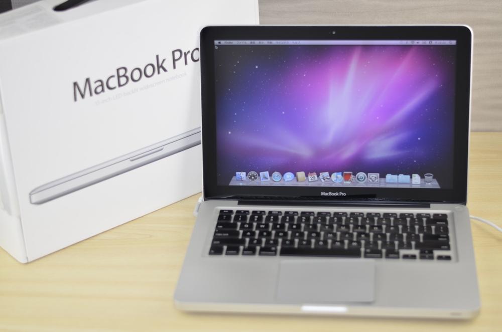 MacBook Pro買取ました!13-inch, Mid 2010 MC375J/A 壊れたMac高額買取中!