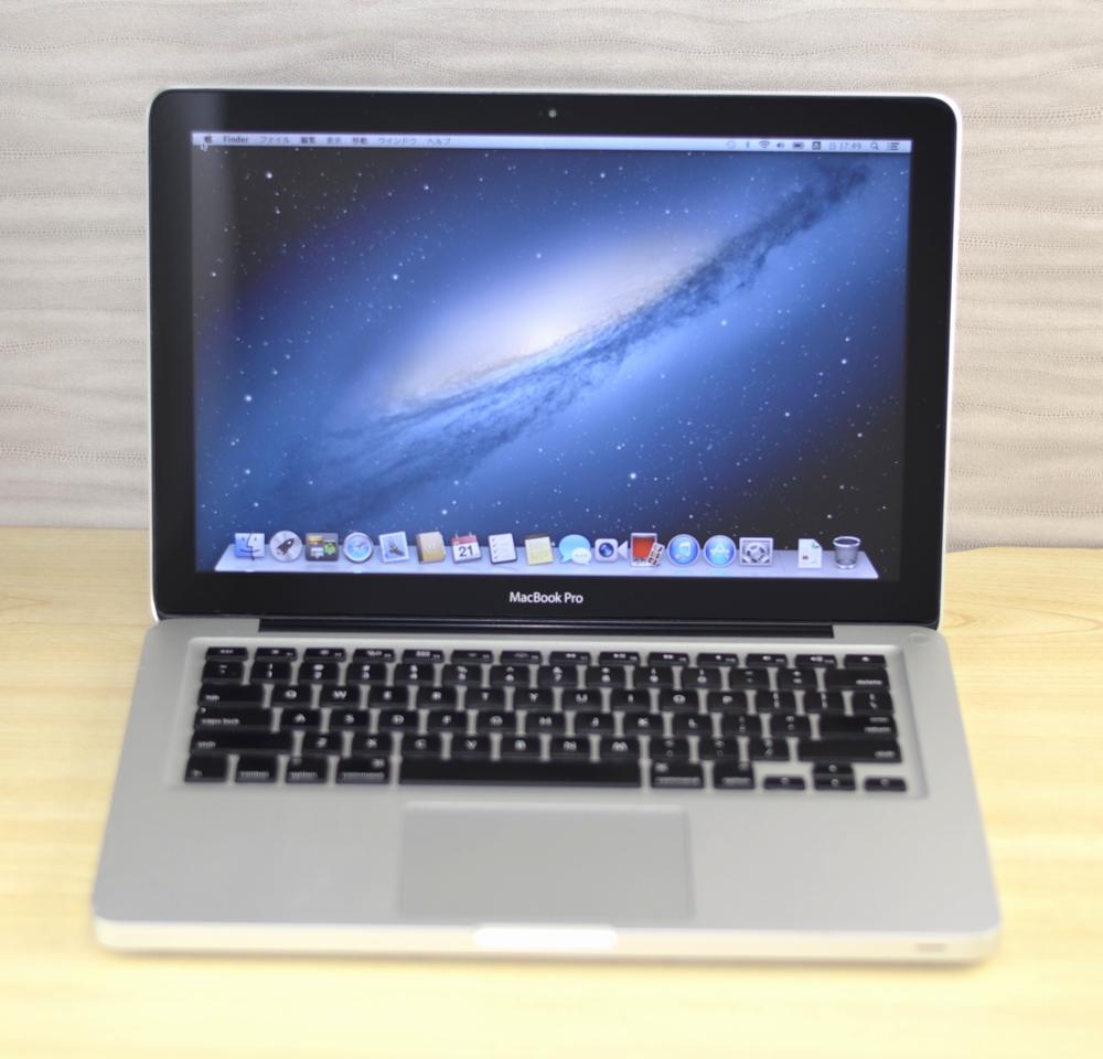 MacBook Pro買取ました!13-inch,Mid 2012 MD101J/A 16GB ジャンク品