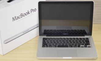 MacBook Pro買取ました!13-inch,Mid 2012 MD101J/A 8GB 壊れたMacBook Pro買取