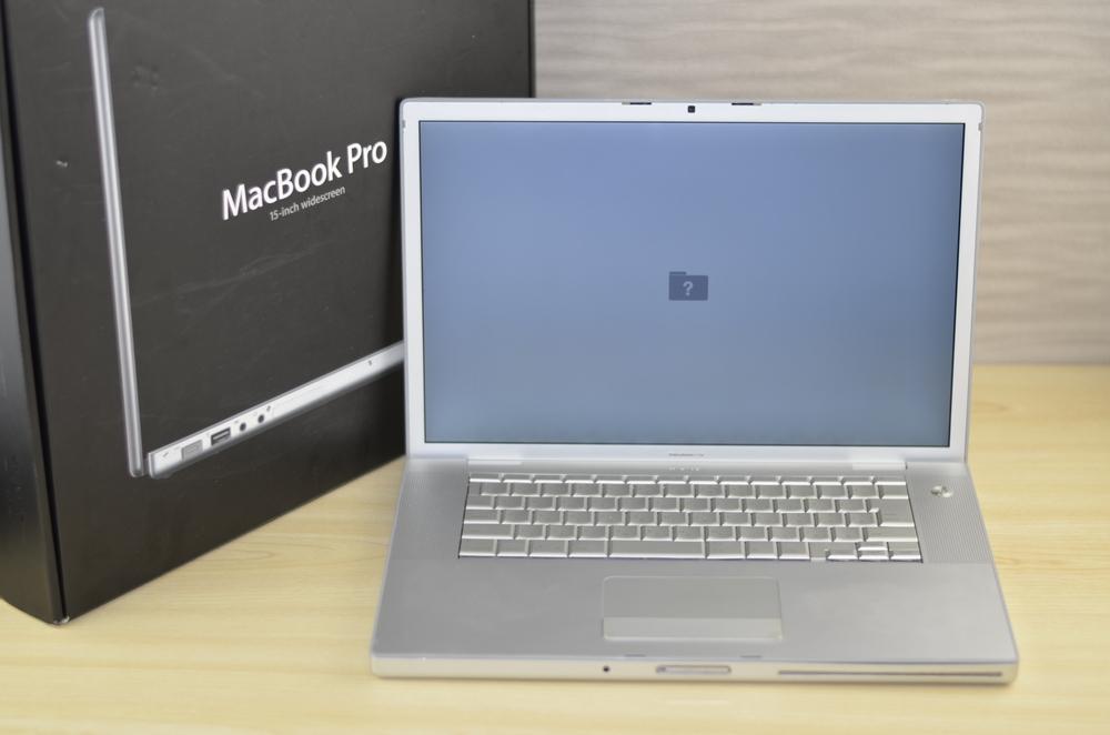 MacBook Pro買取ました!15-inch 2.4/2.2GHz,Macの買取は、オンラインMac買取ストアにお任せください!
