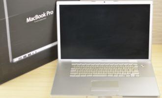 MacBook Pro買取ました!17-inch Early 2008 壊れたMacBook Proの買取はオンラインMac買取ストアにお任せください!