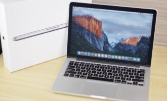 MacBook Pro買取ました!Retina,13-inch,Early2015 MF840J/A,大手買取店より高く買取を行ってます!