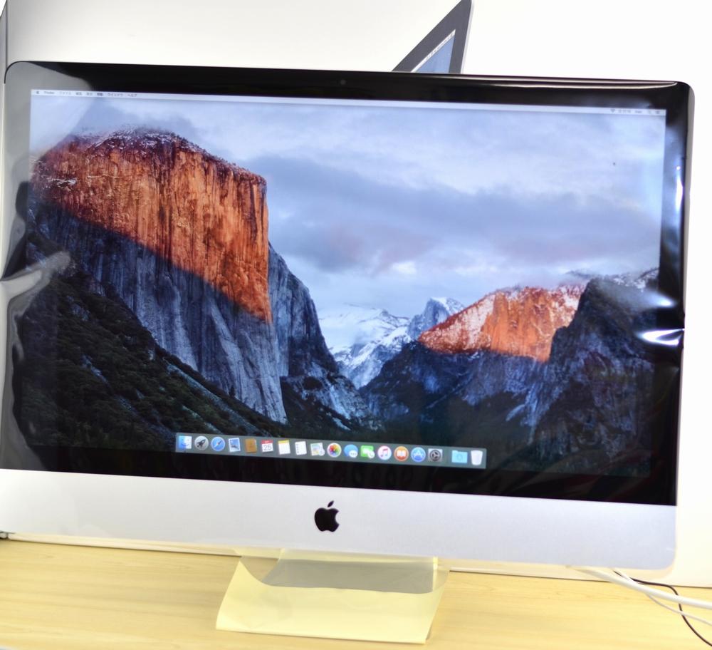 BTO iMac 27-inch買取ました!Late 2012 3.4 i7 32GB 3TB Fusion Drive,Macの買取は、オンラインMac買取ストアにお任せください!