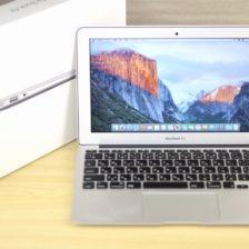 MacBook Air買取ました!11-INCH,EARLY 2015 MJVM2J/A i5,MacBook Airの高額買取はオンラインMac買取ストア