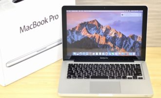 MacBook Pro買取ました!13-inch,Early 2011 MC700J/A Core i5