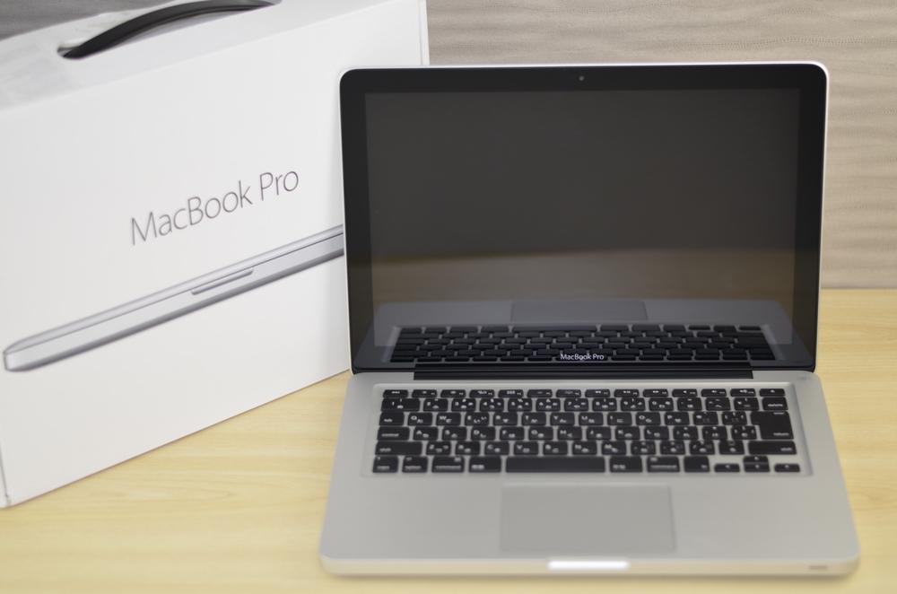 MacBook Pro買取ました!13-inch,Mid 2012 MD101J/A Core i5 ジャンク品、Macの買取は、オンラインMac買取ストアにお任せください!