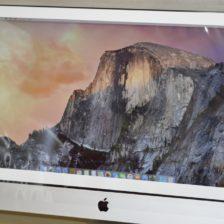 iMac 27-inch買取ました!Mid 2011 MC814J/A 32GB Core i5,Macの買取は、オンラインMac買取ストアにお任せください!