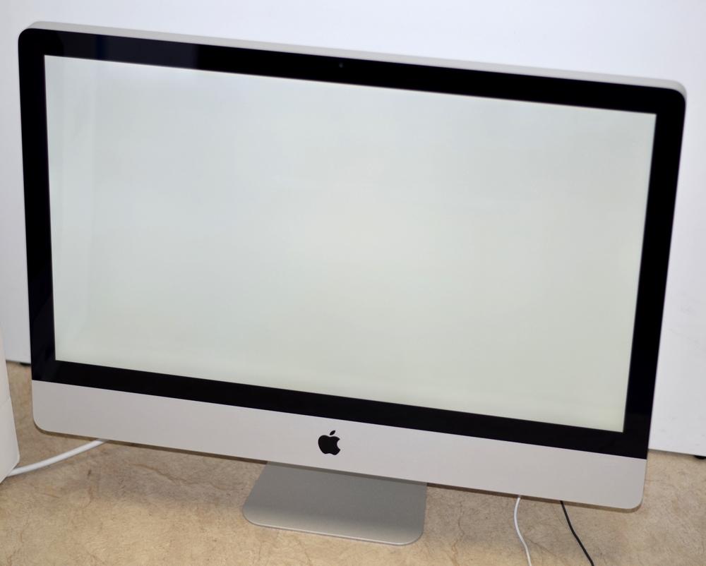 壊れたiMac 27-inch買取ました! MB953J/A 2.66QC Core i5、実際の買取金額が高いのはオンラインMac買取ストア!