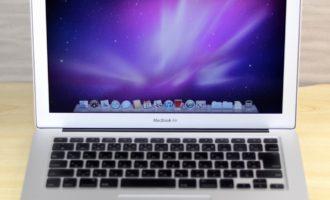 MacBook Air買取ました!13-inch,Late 2010 256GB SSD、MacBook Airを高く売るならオンラインMac買取ストアにお任せください!