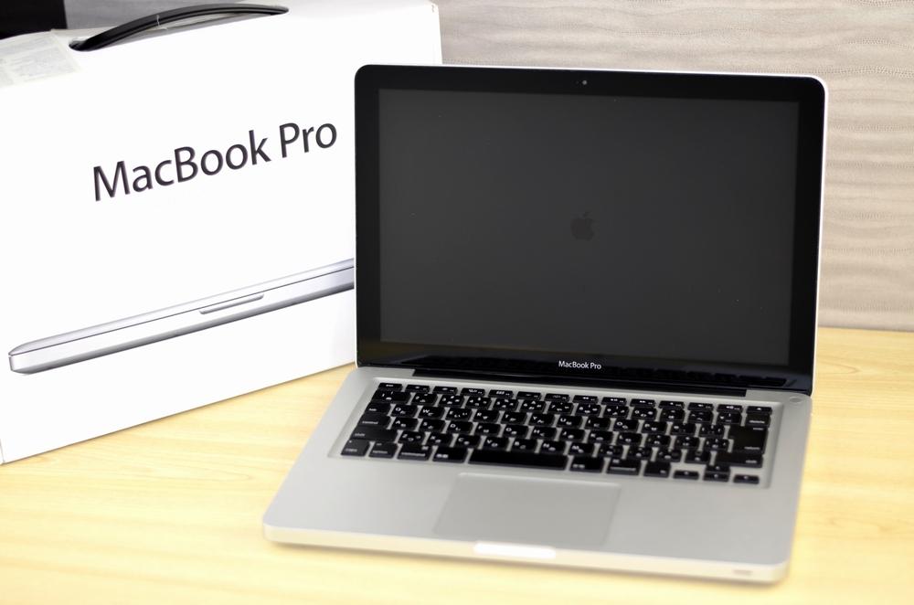 ジャンク品 MacBook Pro買取ました!13-inch,Late 2011 MD313J/A,実際の買取金額が高いのはオンラインMac買取ストア!