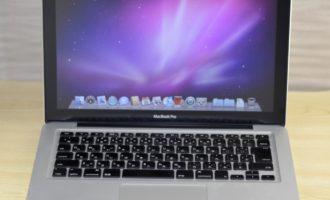MacBook Pro買取ました!13-inch,Mid 2009,Macを高く売るなら、オンラインMac買取ストア!