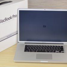 MacBook Pro買取ました!17-inch,Mid 2010 CTO Core i7,実際の買取金額が高いのはオンラインMac買取ストア!