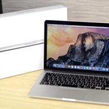 MacBook Pro買取ました!Retina,13-inch,Mid 2014 MGX92J/A、Macの買取は、オンラインMac買取ストアにお任せください!