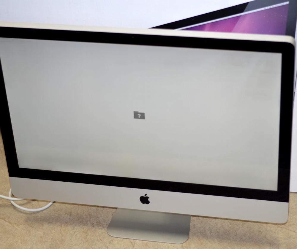 iMac買取ました!27-inch,Mid 2011 Core i7 24GB CTO,Macを売るならオンラインMac買取ストアにお任せください!