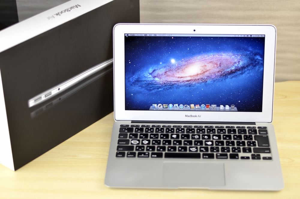 MacBook Air買取ました!11-inch Mid 2011 Core i7 CTO,Macの買取は、オンラインMac買取ストアにお任せください!