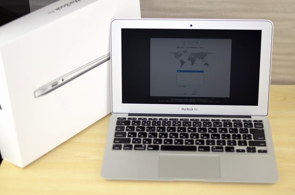 MacBook Air買取ました!11-inch Mid 2013 Core i5 CTO,壊れているMac・付属品が無い・傷・へこみがあっても買取いたします!