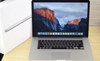 MacBook Pro買取ました!Retina 15-inch Mid 2015 Core i7、壊れているMac・付属品が無い・傷・へこみがあっても買取いたします!