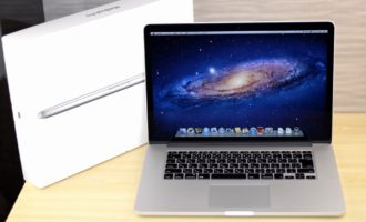 MacBook Pro買取ました!Retina Mid 2012 MC976J/A Core i7,実際の買取金額が高いのはオンラインMac買取ストア!