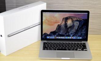 MacBook Pro買取ました!Retina,13-inch,Mid 2014 MGX72J/Aの買取は、オンラインMac買取ストアにお任せください!