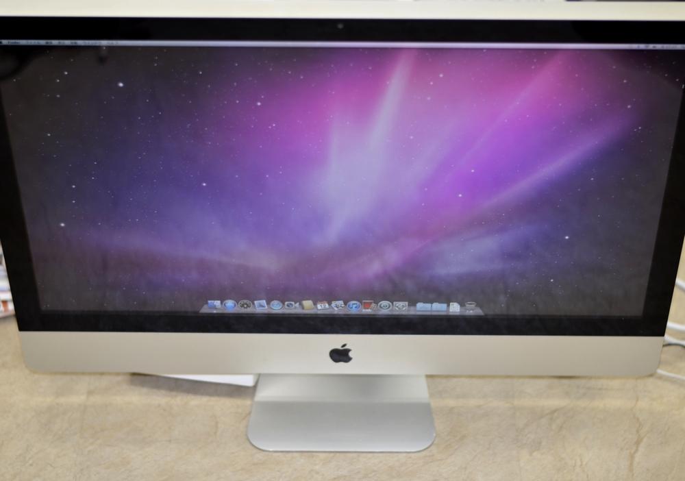 iMac 27-inch買取ました!Mid 2011 Core i5 3.1GHz ジャンク品、自宅から楽々!かんたん全国送料無料宅配買取、Macの買取は、オンラインMac買取ストアにお任せください!