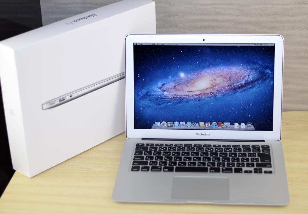 MacBook Air買取ました!13-inch,Mid 2012 Core i5 CTO,実際の買取金額が高いのはオンラインMac買取ストア! 安心の事前査定、査定金額保証!