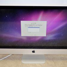 iMac買取ました!Mid 2010 MC510J/A Core i3 壊れたiMac買取いたします。Macの買取は、オンラインMac買取ストアにお任せください!