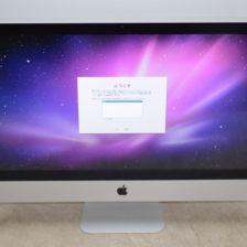 壊れたiMac買取ました!27-inch Late 2009 MB953J/A Core i5、実際の買取金額が高いのはオンラインMac買取ストア!