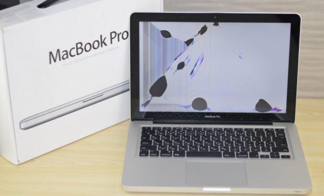液晶割れMacBook Pro買取ました!13-inch Mid 2012 Core i7 MD102J/A、Mac Book Pro最強の買取専門店!オンラインMac買取ストアにお任せください!