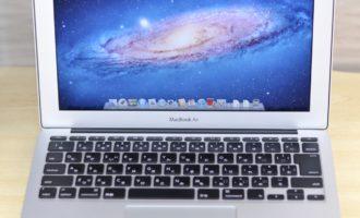MacBook Air買取ました!11-inch Mid 2011 MC968J/A Core i5,専門店だからできる!故障・壊れたMac買取ます!