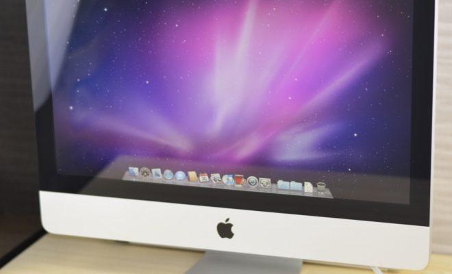 壊れたiMac 21.5-inch買取ました!Late 2009、壊れたMacの買取は、オンラインMac買取ストアにお任せください!