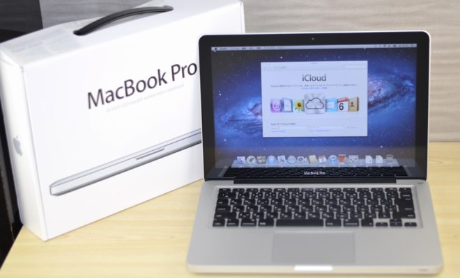 MacBook Pro買取ました!13-inch Late 2011 MD313J/A Core i5,他店との決定的違い!実際の買取金額が高いのはオンラインMac買取ストア!