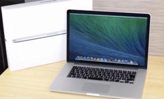 MacBook Pro買取ました!Retina, 15-inch, Late 2013 ME294J/A,Macの買取は、Mac買取専門店オンラインMac買取ストアにお任せください!